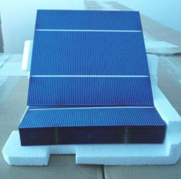 Hot Selling 156x156mm 2BB Poly/Multi-crystalline solar cell