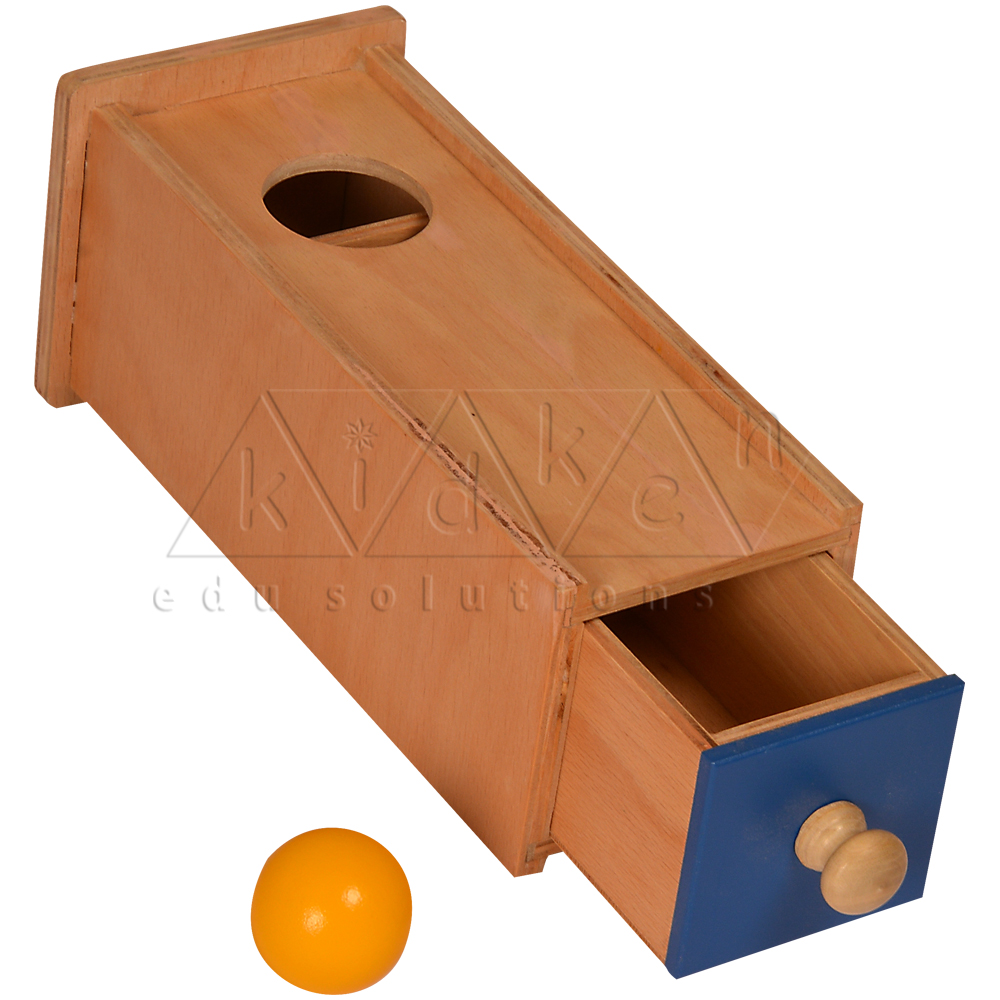 TM01-Object Permanence Box with Drawer