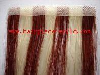 Skin weft/PU weft (100% hand tied hair weft)