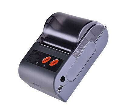 LS2(L) mini mobile bluetooth thermal printer with leather cover