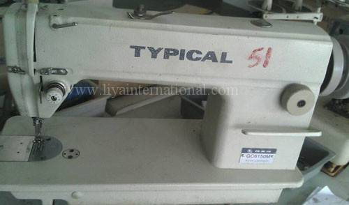 used second hand TYPICAL 6150M  industrial sewing machine