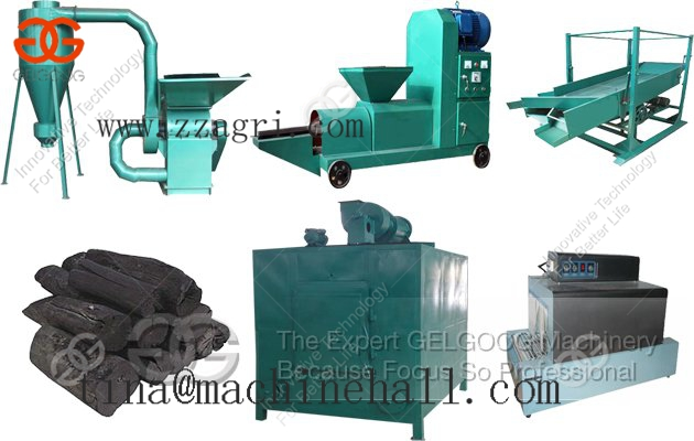Charcoal Production line Supplier