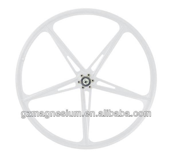 new design 5 spokes 20inch 451mm disc brake wheels