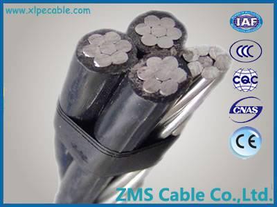 0.6/1kv 10kv 33kv service drop cable aerial bundle cable