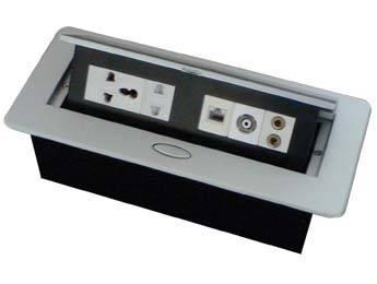hiding desktop socket, tabletop socket, electrical sources, plugs