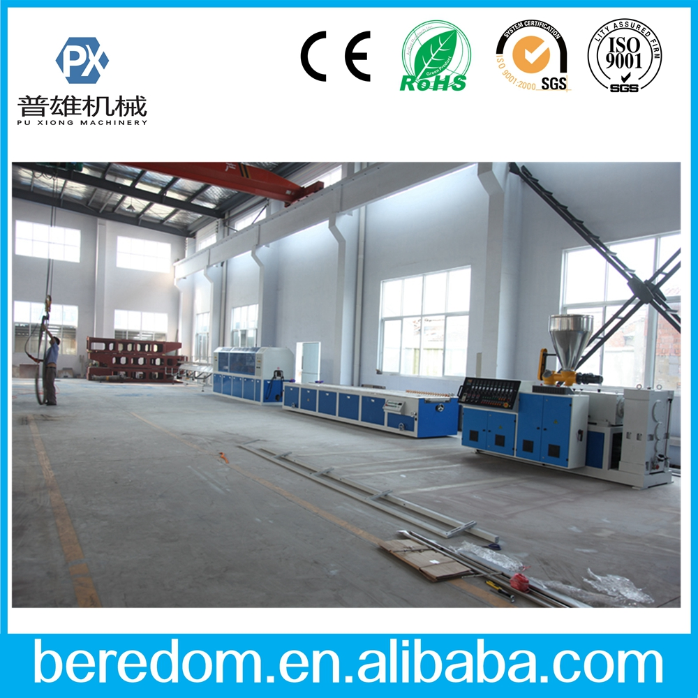 PVC/PE/PP/WPC Window door/ trunking profile extrusion line