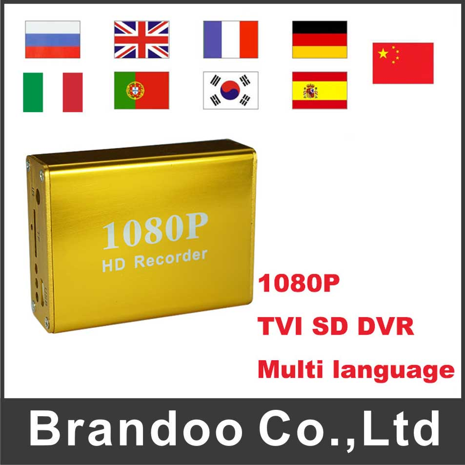 1 Channel 1080P TVI SD DVR,Golden DVR