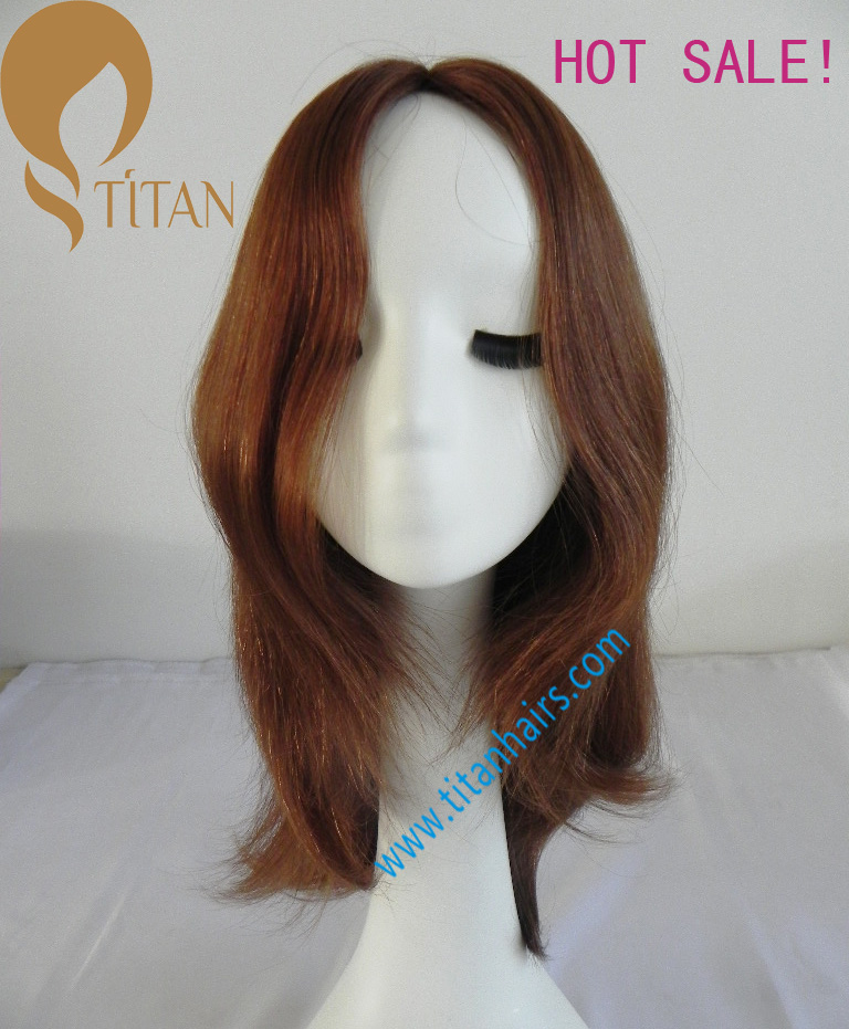 Full Lace/Thin poly Base Remy Human Hair Wig