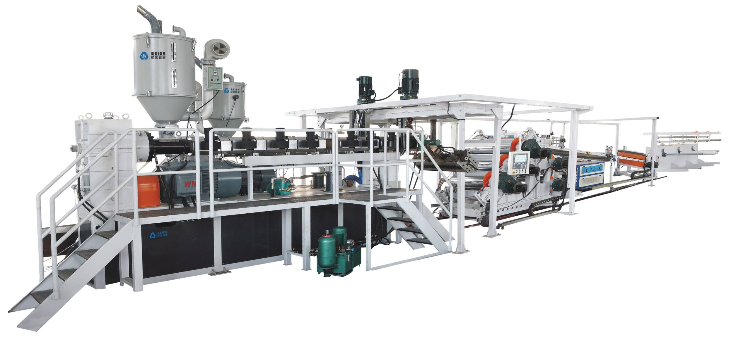 Plastic Sheet(PE/PP/PS/ABS) Extrusion Line