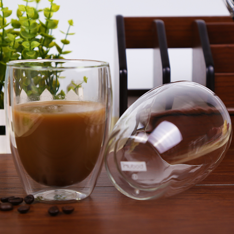 Double Wall Glass Cup Beer Coffee Cup