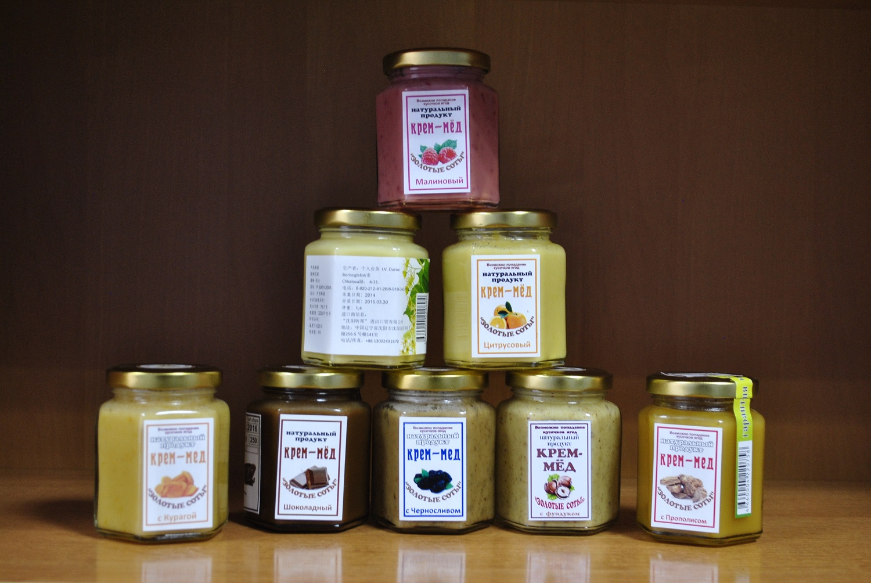 Cream-honey