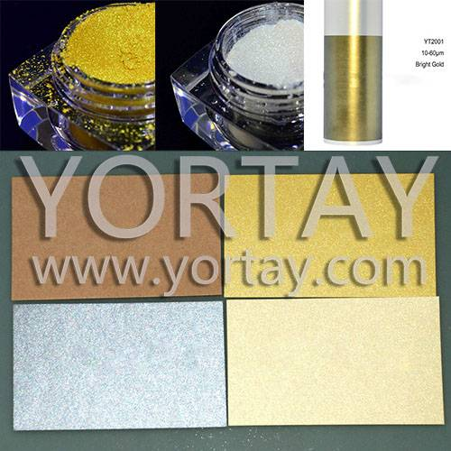 Classical Pearlecent Paper Gold/White Pearl Pigment