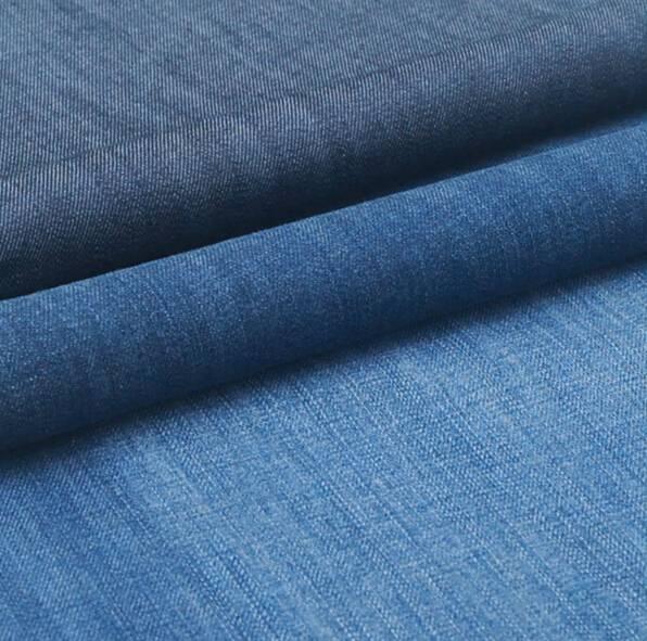 Cotton Rigid denim fabric