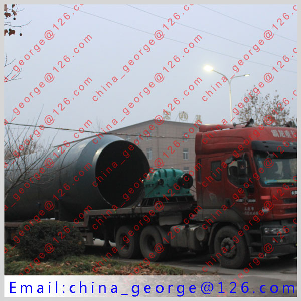 Large capacity hot sale low grade iron ore rotary kiln sold to Akmola