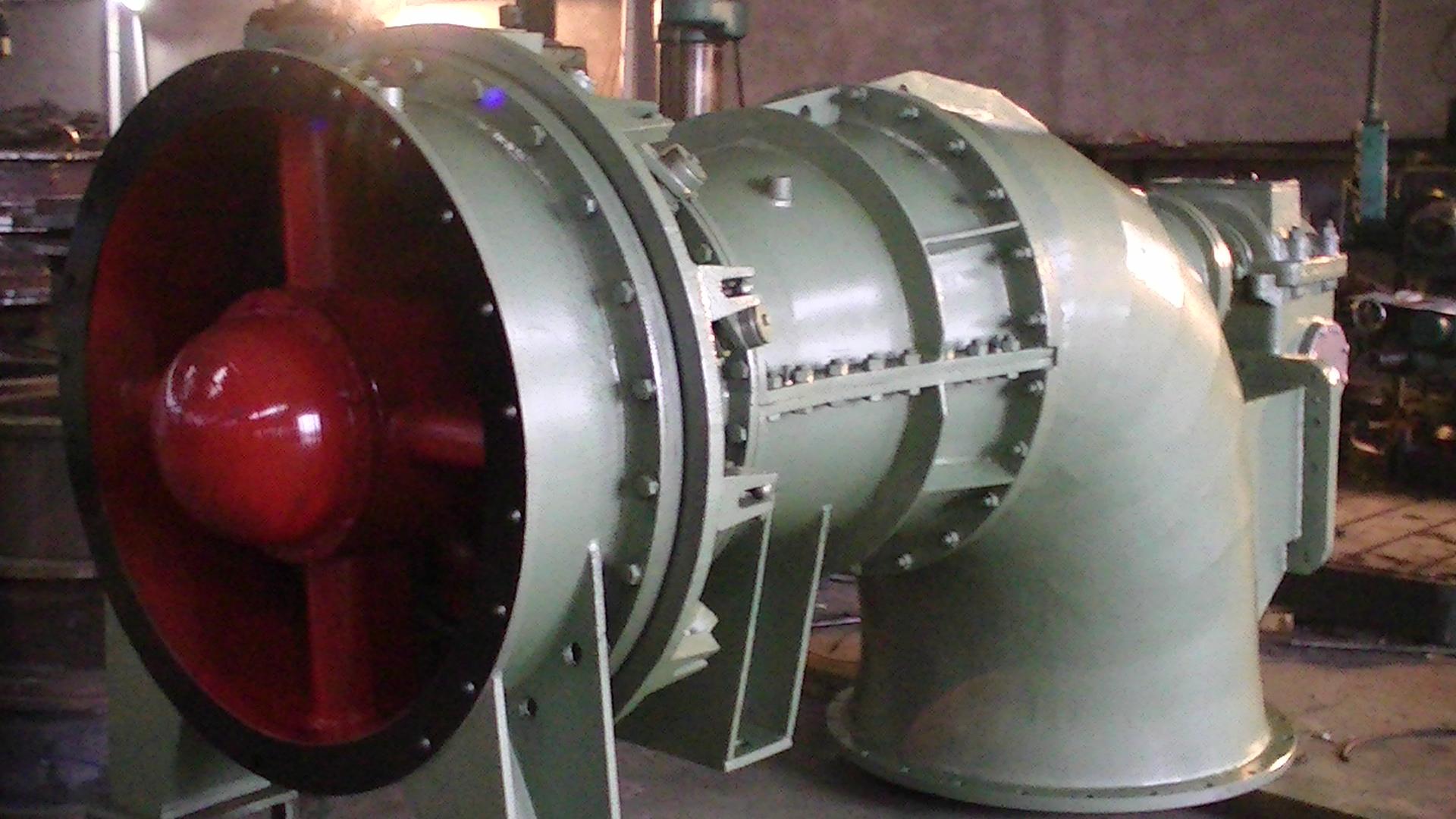Impulse Turgo Hydro Turbine