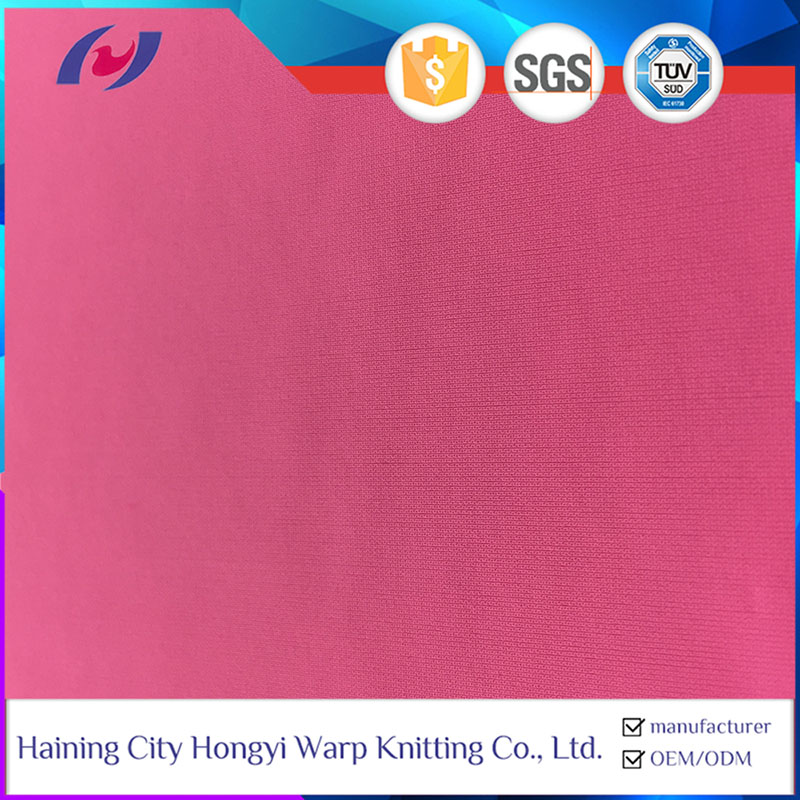 80 Nylon 20 Spandex Semi-dull Stretch Fabric Swimsuit Sportswear Fabric