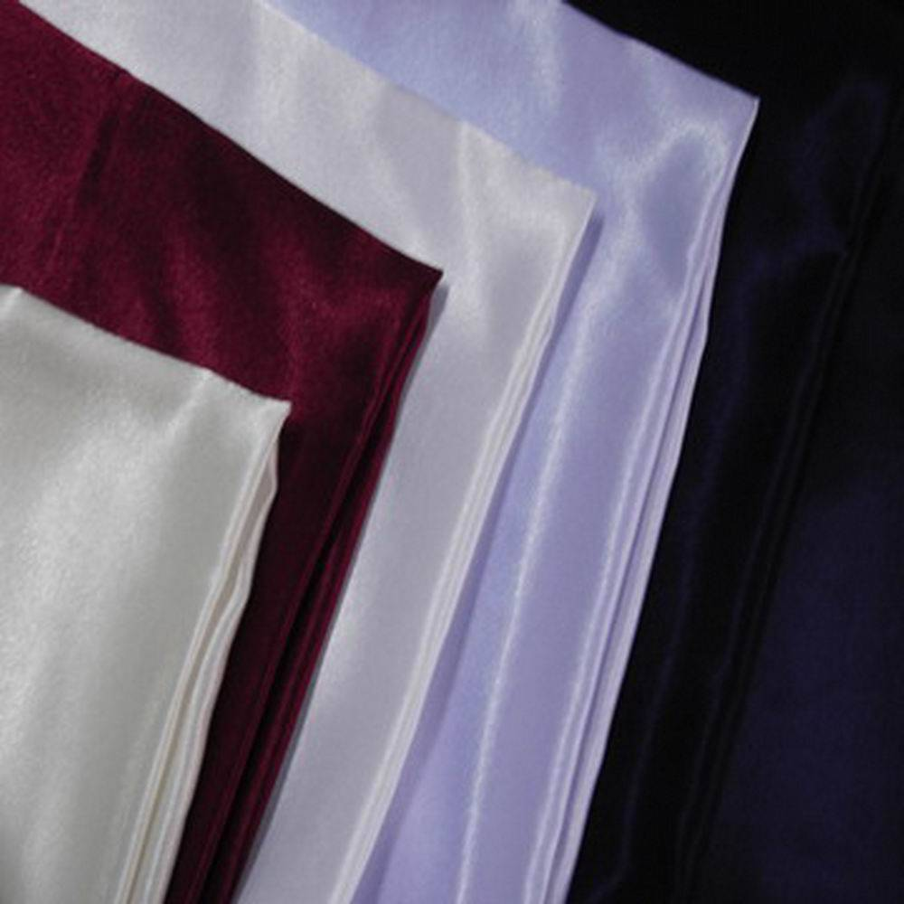 POLYESTER BACK CREPE SATIN FABRIC
