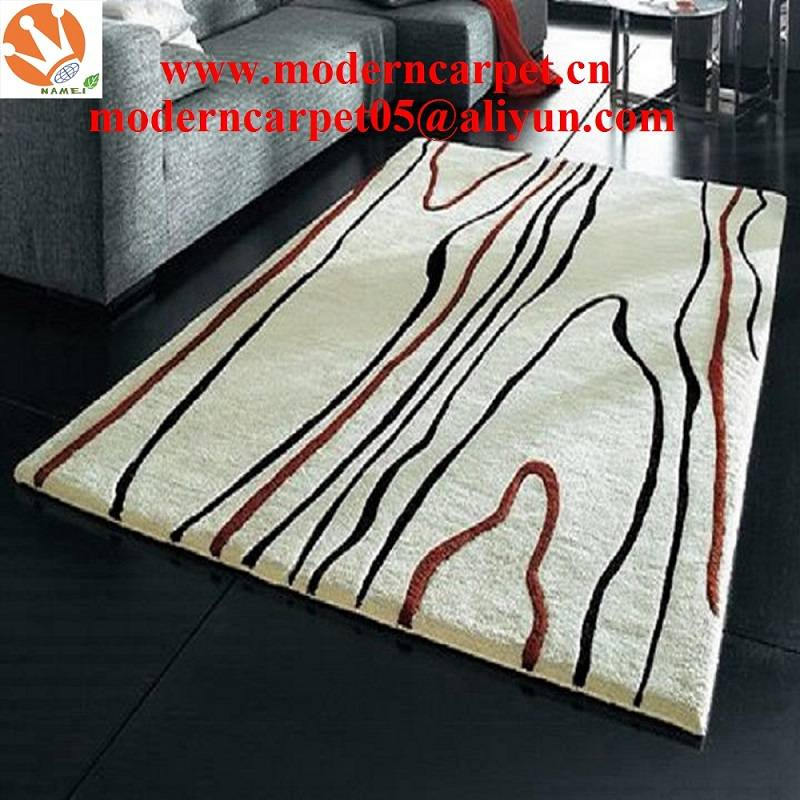 china handtufted modern carpets and rugs