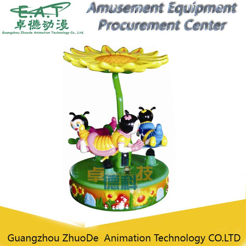 Bee Paradise Carousel A new amusement outdoor kiddie ride