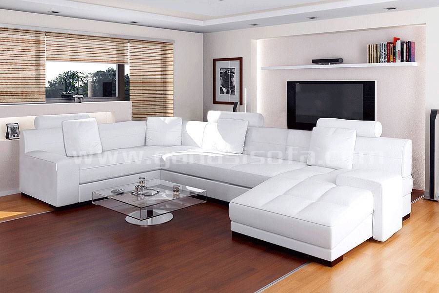 2014 Luxury Leather Sofas A1111
