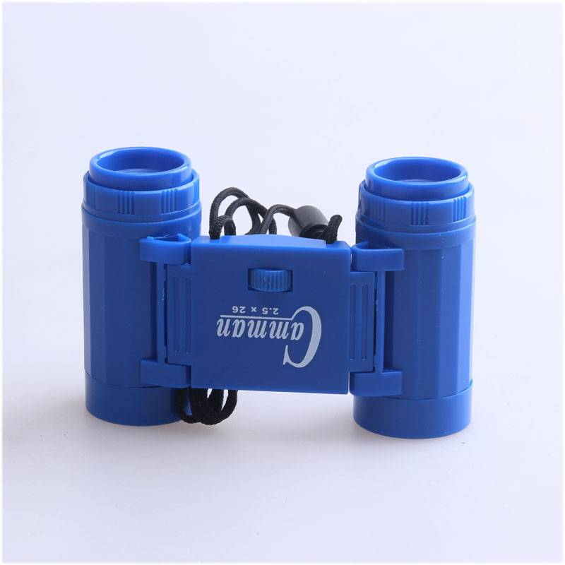 2.5x26 Kids Plastic Toy Foldable Binocular
