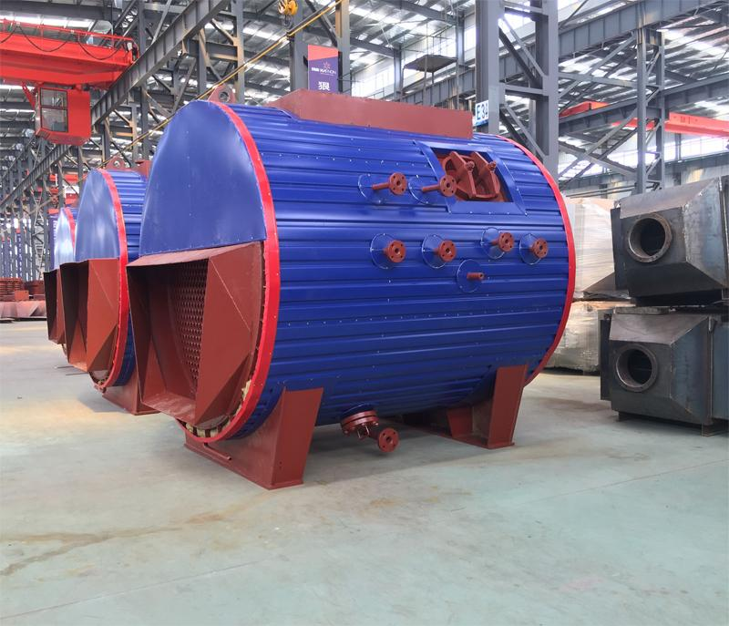 Natural Circulation Steam Boilers Exhaust Gas Heat Recovery for Oil /Gas Fired Generator Sets