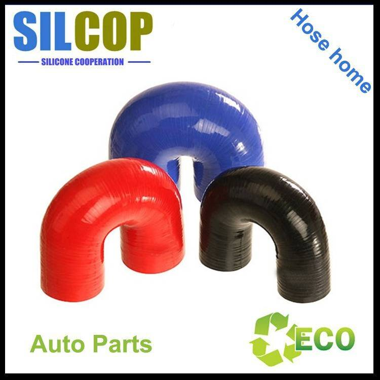 Silicone U Shaped 180 Degree Elbow Hose