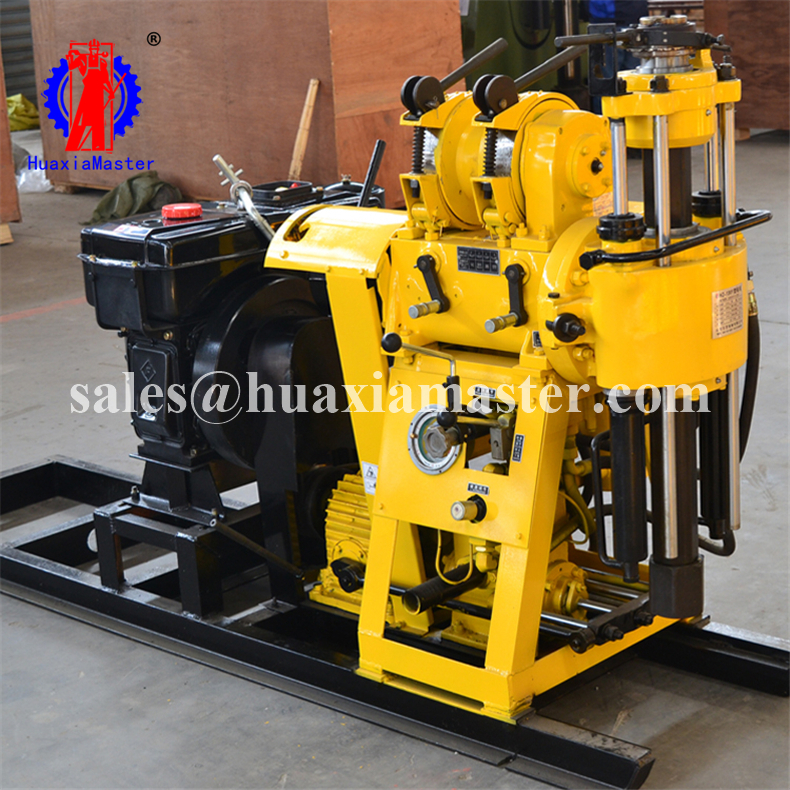 supply HZ-130Y expoloration drilling rig/rock core drilling rig /fast water well drilling machine