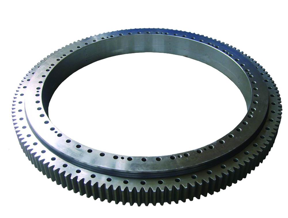 Material 50Mn, 42CrMo External Gear tower crane turnable bearing Slewing bearing