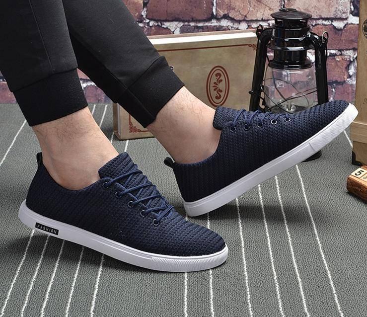 2016 new fashion Korean version of the solid color casual men outdoor sports shoes everyday casual m