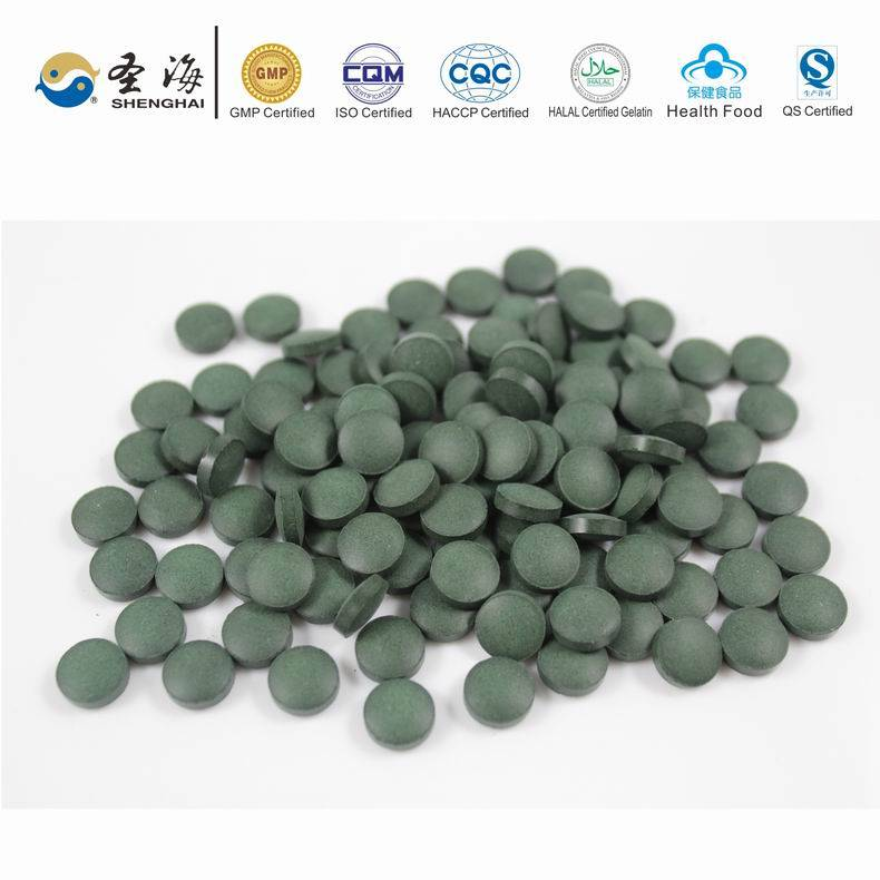 Herbal Supplement spirulina tablet anti-cancer
