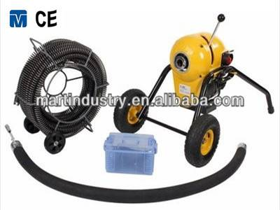 8'' high pressure electric drain cleaning machine S200