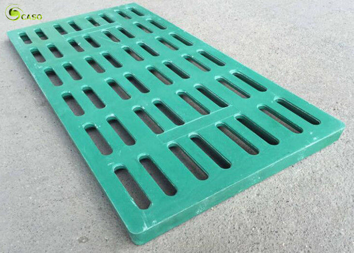 Sidewalk Plastic Manhole Drain Cover Lattice Grating BMC Slat Farrowing Floor