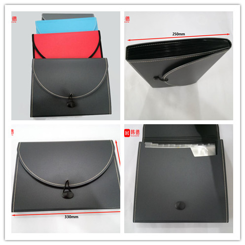 New Design PP Foam File Folder China Manufacturer Briefcase/Document Bag/Expanding File