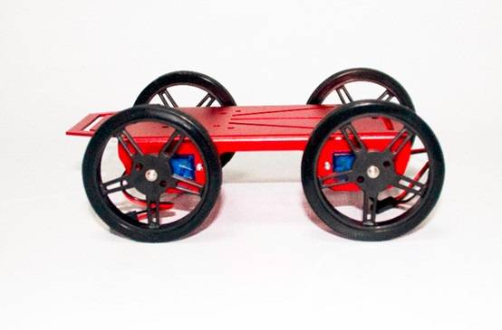 Feetech  4 WD Drive Educational Robot Chassis for Arduino