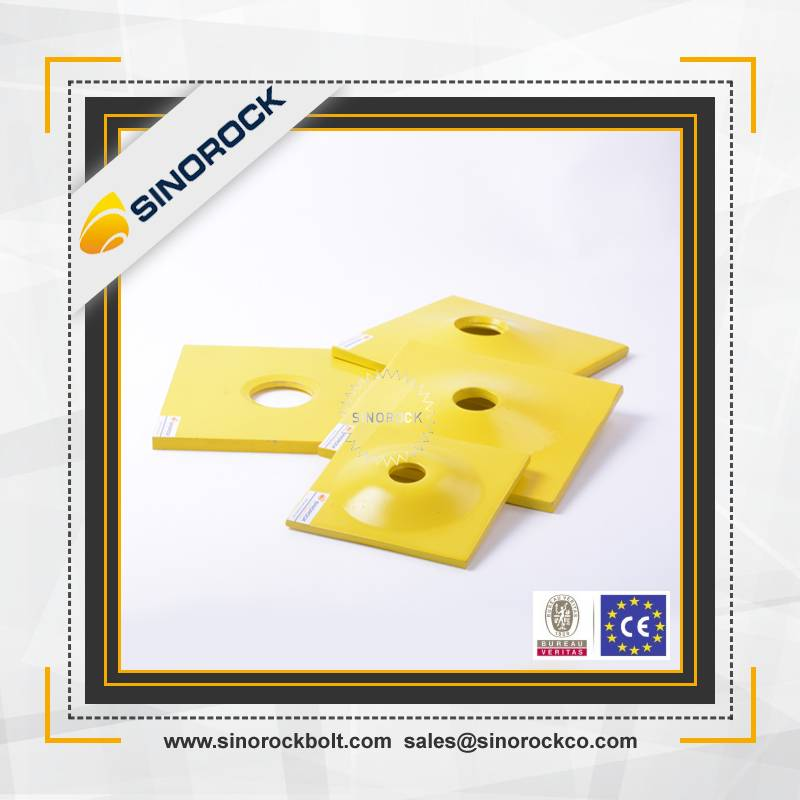 Sinorock mining self drilling anchor plate