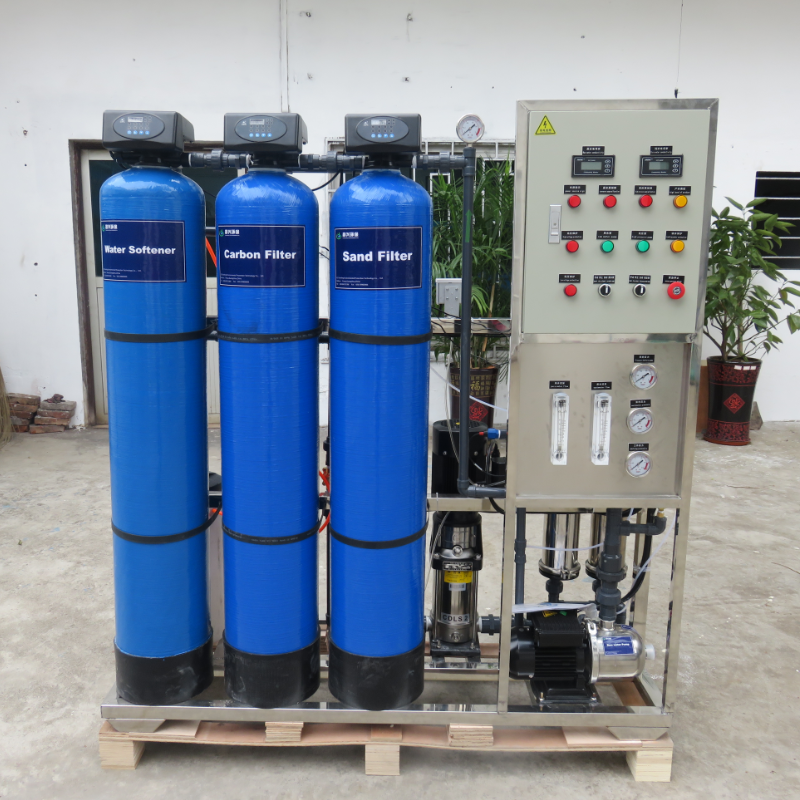 500LPH industrial RO water treatment plant price