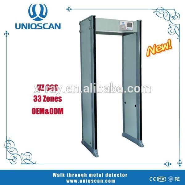 33 zones Door Frame Metal Detector UZ800