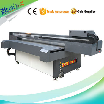 CE approved large format digital inkjet uv flatbed printer, fabric painting machine uv platbed print