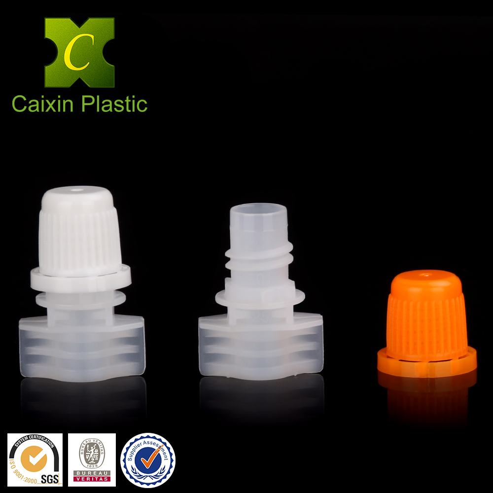 8.2mm plastic spouts for beverage and coffee bags