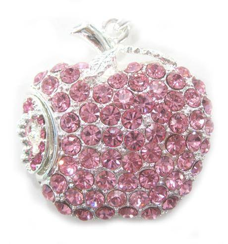 Apple Shaped Jewelry USB Flash Pendrive