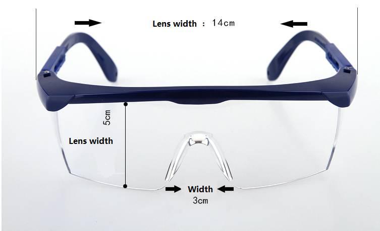 Anti impact goggles