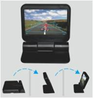 4.3 inch Universal CCTV TFT Monitor ET-DV 488 with DVR LCD Sunshade