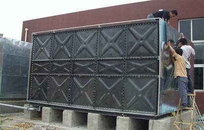 GDTC Bolted Enamel strip water tank
