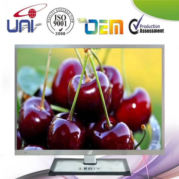 32 InchE-LEDTV,Sliver metalnarrowbezel with AUO/CMO/LG/Samsung original Panel