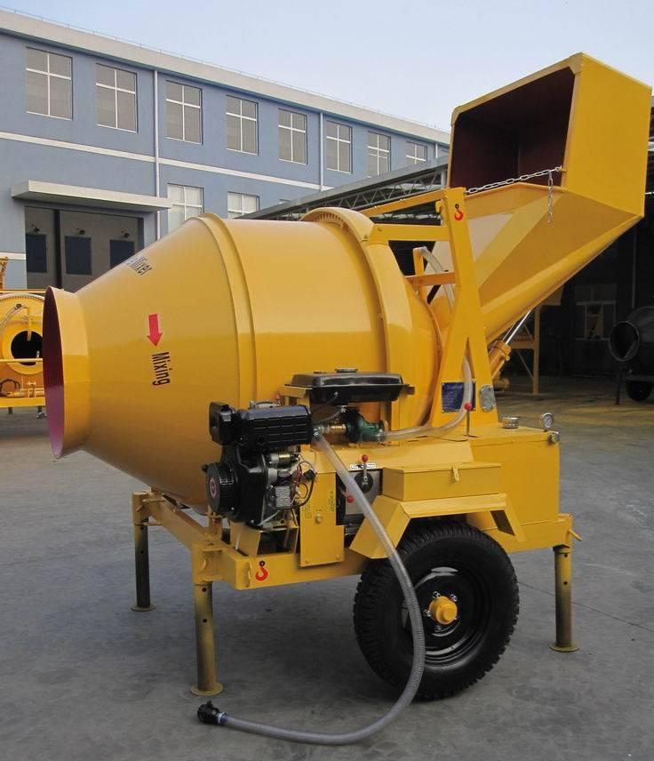 Concrete Mixing Machine Mixer,Concrete Mixer Jzc350