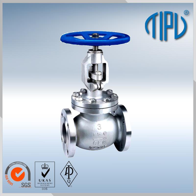 Carbon steel flange RF RTJ globe valve