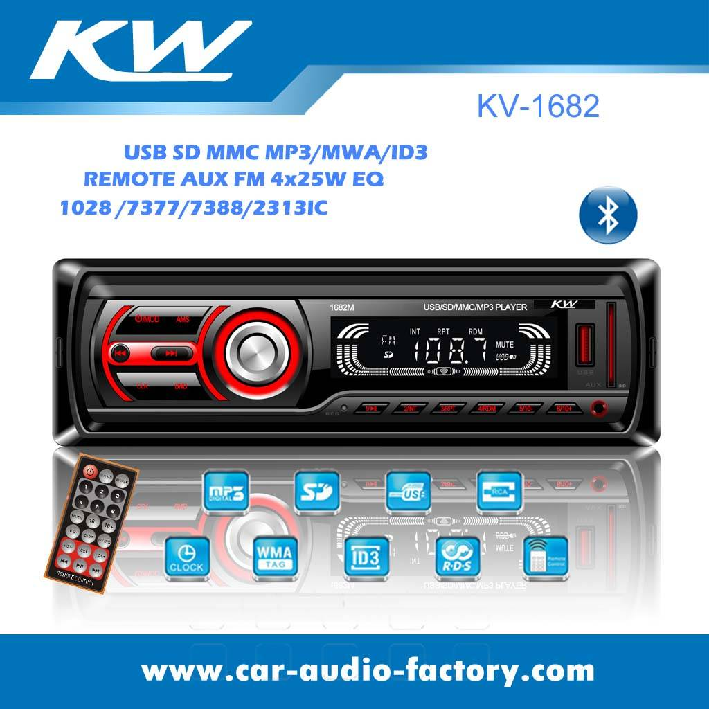 KV1682 Car MP3 Player withUSB/SD Slot