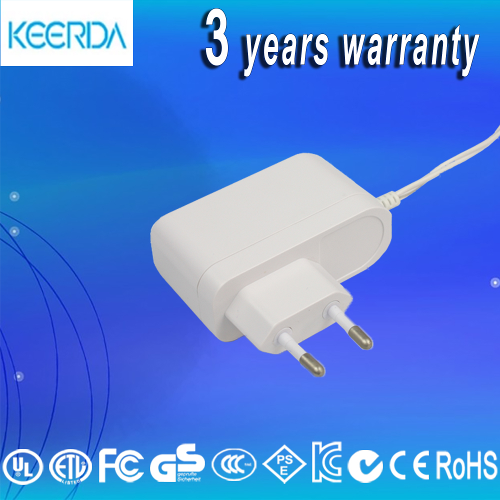 5W AC DC adapter 5v1A side mount plug power adapter for KC cetification