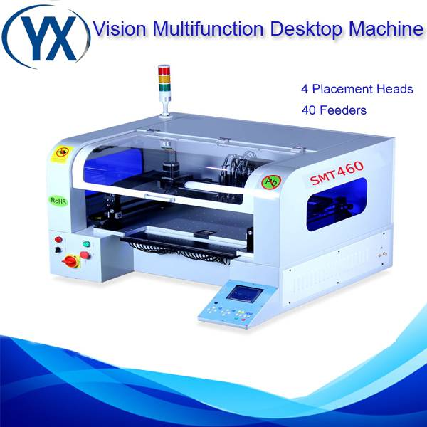 High Technology Pick and Place Machine SMT460 PCB Pick Place Machine,0402,0603,0805,1206